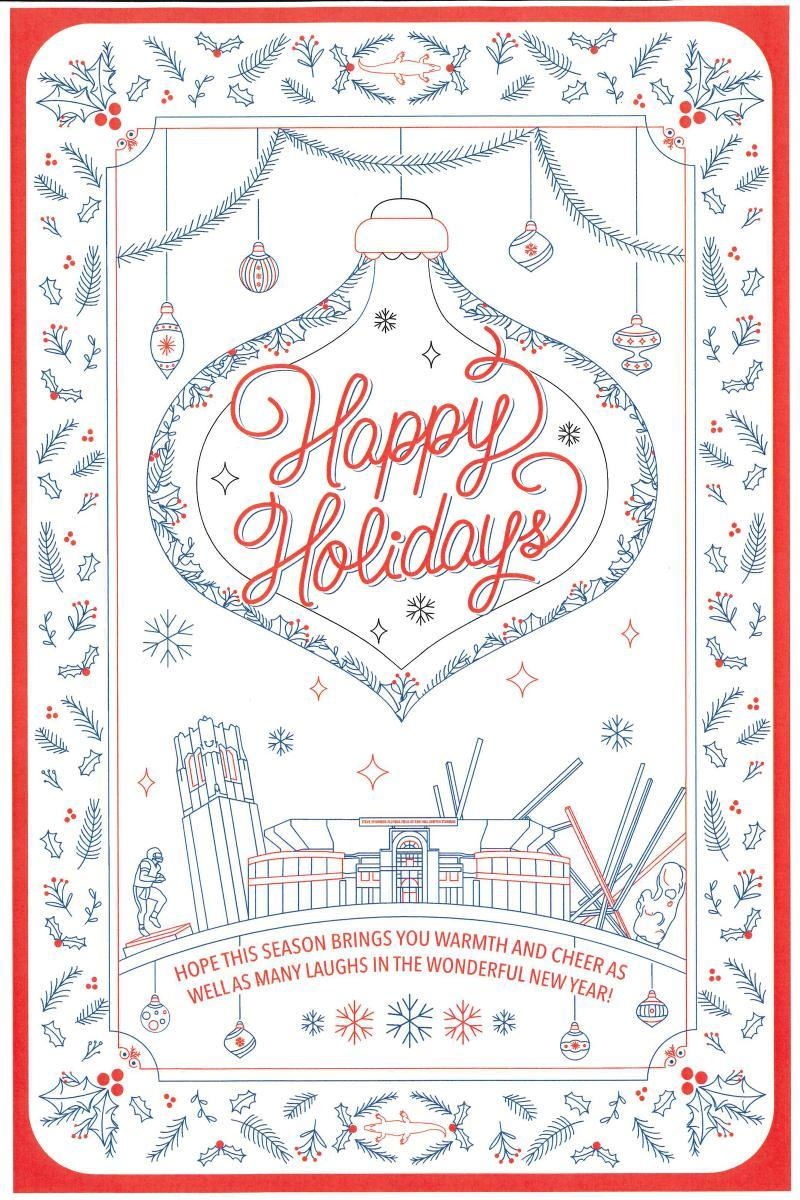 Holiday Card Winners President University Of Florida